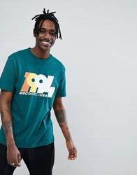 Dc Shoes T Shirt With 1994 Logo In Green