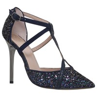 Kg By Kurt Geiger Bethy T Bar Court Shoes Navy