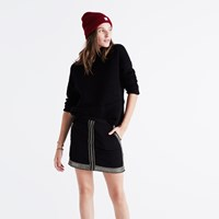 Madewell Embellished Mini Skirt True Black