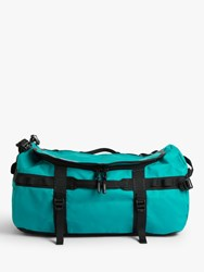 The North Face Base Camp Duffel Bag Small Fanfare Green Tnf Black
