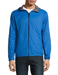 Hawke And Co Lightweight Reversible Jacket Sapphire