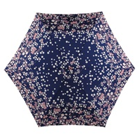 Radley Spot And Dog Print Umbrella Navy