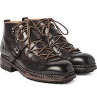 O'keeffe Alvis Washed Leather Hiking Boots