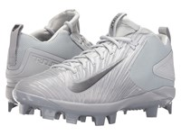 Nike Trout 3 Pro Mcs Wolf Grey Metallic Dark Grey Pure Platinum White Men's Cleated Shoes Gray