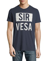 Sol Angeles Sir Vesa Graphic T Shirt Indigo