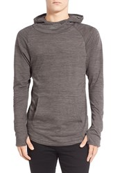 Men's Imperial Motion 'Trace Suba' Cowl Neck Hoodie Charcoal Marble