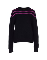Le Mont St Michel Sweaters Dark Blue