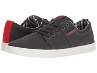 Supra Stacks Ii Dark Grey White Men's Skate Shoes Gray