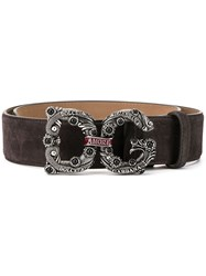 Dolce And Gabbana Dg Amore Buckle Belt 60