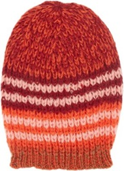 Wooden Ships Stripe Joni Beanie Red