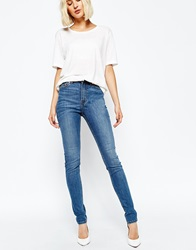 Weekday Thursday High Waist Skinny Jean Bluehawaii