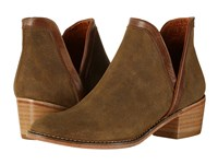 Wolverine Delaney Bootie Rootbeer Suede Women's Boots Brown