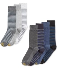 Gold Toe Men's Wardrobe Dress Socks A Macy's Exclusive 7 Pk. Pack D