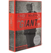 Phaidon Andy Warhol Giant Size Mini Format Hardcover Book Black