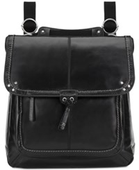 The Sak Ventura Small Leather Backpack Black