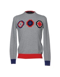 Harmont And Blaine Sweaters Grey