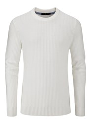 Henri Lloyd Men's Felsted Crew Neck Knit Grey