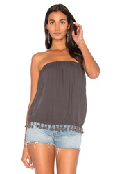 Lamade Colbie Tube Top Charcoal