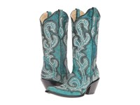 Corral Boots G1249 Turquoise Women's Blue