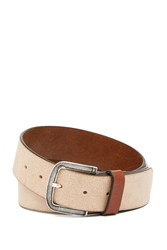 Tommy Bahama Full Grain Italian Leather 40Mm Belt Sand