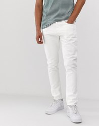 Tom Tailor Tapered Fit Jeans In White
