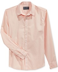 American Rag Men's Solid Shirt Only At Macy's Pearl Blush