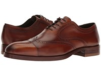 Donald J Pliner Zindel Saddle Men's Shoes Brown