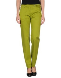 Carven Casual Pants Acid Green