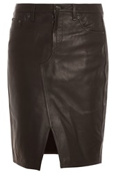 Rag And Bone Tampa Leather Skirt