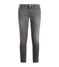 Denim And Supply Ralph Lauren Cropped Skinny Jeans Female Grey