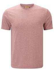 John Lewis And Co. Cotton Marl T Shirt Pink