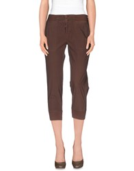 Woolrich Trousers 3 4 Length Trousers Women Cocoa