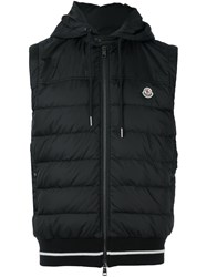 Moncler Feather Down Gilet Grey