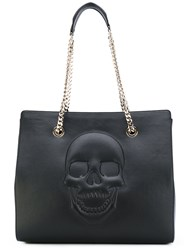 Philipp Plein Betty Tote Women Calf Leather Metal One Size Black