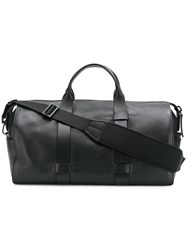 Troubadour Top Handle Holdall Bag Black