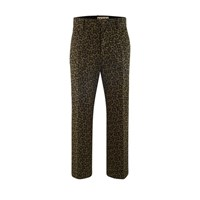 Marni Cropped Trousers Military Camouflage