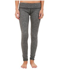 Pink Lotus Stealth Performance Legging Heather Grey Women's Clothing Gray