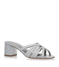 Gina Dexie Rocher Sandals Female Silver