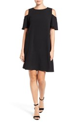 Bobeau Women's Cold Shoulder Shift Dress