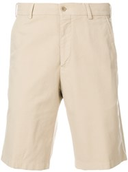 Loro Piana Chino Shorts Nude And Neutrals