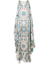 Roberto Cavalli Graphic Tunic Dress White