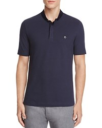Armani Collezioni Regular Fit Polo Navy