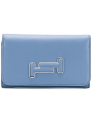 Tod's Trifolded Wallet Blue