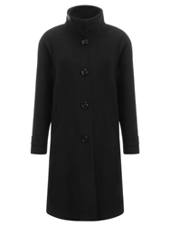 John Lewis Swing Coat Black