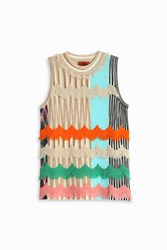 Missoni Women S Multi Fringe Top Boutique1