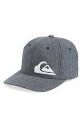Quiksilver Final Baseball Cap Navy Blazer Heather