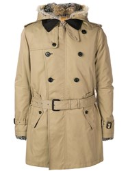 Sealup Short Trench Coat Neutrals