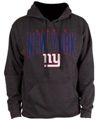 Nfl Authentic Apparel New York Giants Defensive Line Hoodie Heather Charcoal