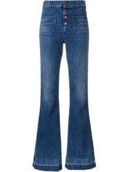 Aries 'Jane Flaire' Jeans Blue