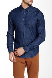 Moods Of Norway Arve Slim Fit Shirt Blue